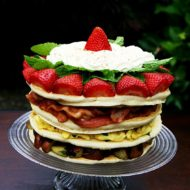 """Happy Father's Day! Breakfast pan""""cake"""""""