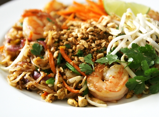 A favorite Thai stir fry noodle dish at home: Pad Thai Recipe