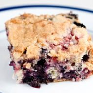 Blueberry Coffee Cake Recipe with Brown Sugar Crumb Topping