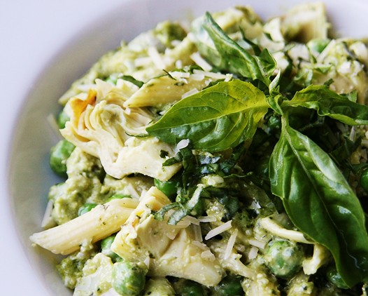 Pesto Pasta Salad Recipe with Creamy Pesto Dressing | Easy Recipes ...