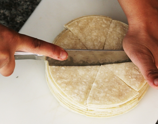 cuttingtortillas