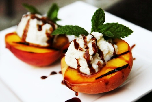 Grilled Peaches with Ricotta Cheese Recipe | Easy Recipes, Tips, Ideas ...