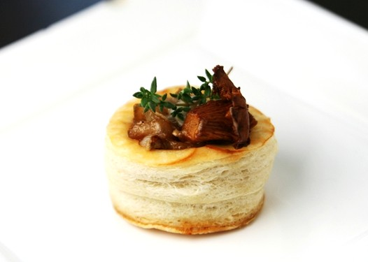 Vols au vent recipe puff pastry savory sweet life easy for Puff pastry canape ideas