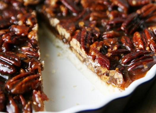 GlutenFreeBaconPecanBars Bacon Salted Caramel Pecan Bars Recipe