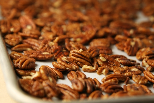 pecansonsheet How To Toast Pecans