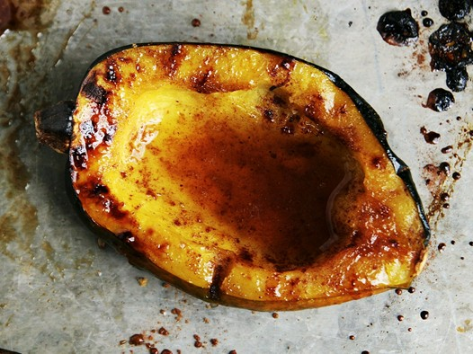 Acorn Squash Recipe with Brown Sugar Butter Sauce