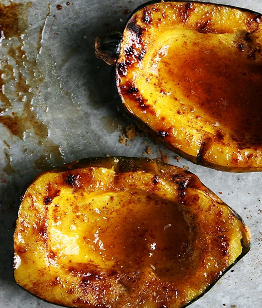 of the squash if you prefer a more sweet and spicy acorn squash just ...