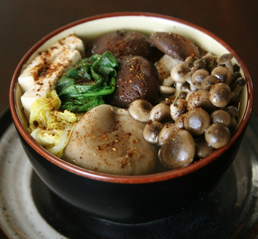 hotpotbowl Mushroom Hot Pot Recipe   Kinoko Nabe
