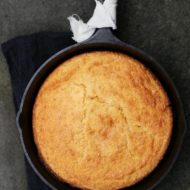 Skillet Cornbread Recipe {via The Pioneer Woman}