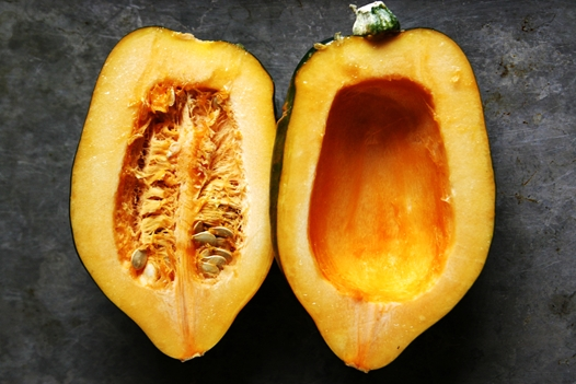 squash Acorn Squash Recipe with Brown Sugar Butter Sauce