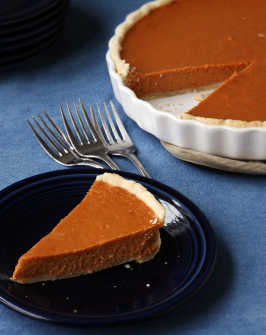 sweetpotatopieslice Sweet Potato Pie Recipe