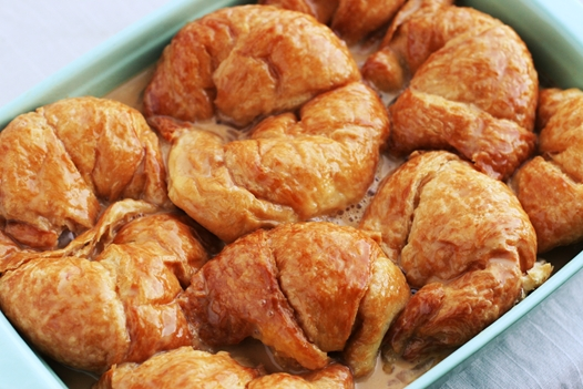 drenchedcroissants Bourbon Croissant Bread Pudding Recipe