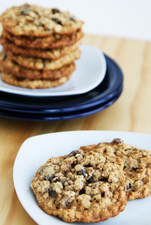Classic Oatmeal Raisin Cookies