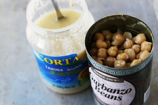 garbonzo beans tahini Hummus