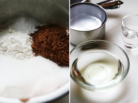 wackyingredients1 Chocolate Wacky Depression Cake Recipe