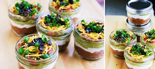 canned dip1 Seven Layer Dip Recipe