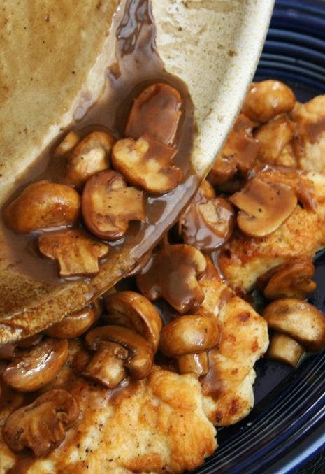 mushrooms over chicken {Easy Anytime Dinner} Chicken Marsala Recipe