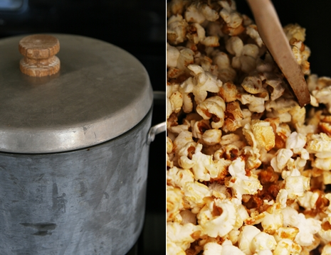 popcorn pan {My Favorite Fair Food} Kettle Corn