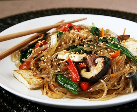 japchae guest post Vegetarian Jap Chae