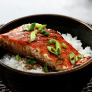{Simple & Wonderful} Grilled Salmon Teriyaki