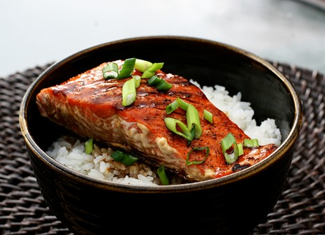 Salmon Teriyaki {Simple & Wonderful} Grilled Salmon Teriyaki
