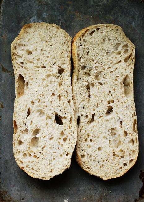 baguetteslicedopen1 Garlic Cheese Bread
