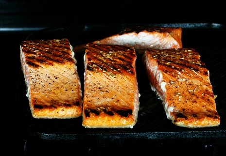 grilledsalmon {Simple & Wonderful} Grilled Salmon Teriyaki