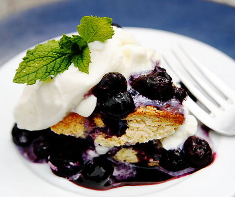 blueberry Shortcake1 Blueberry Shortcakes