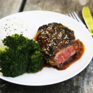 Citrus Ginger Teriyaki Steak Recipe & $100 Visa Gift Card Giveaway