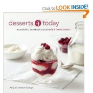 {Cookbook Review} Abby Dodge's Desserts 4 Today and Giveaway!