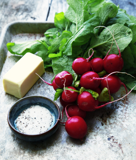 radishbutteringredients Radish Truffle Butter Recipe