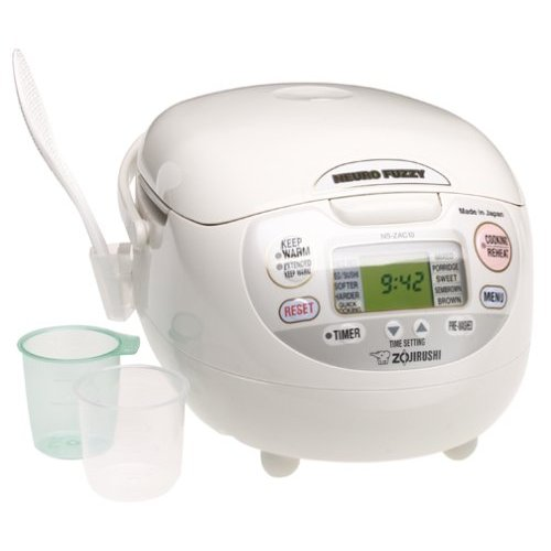 Zojirushi Neuro Fuzzy Rice Maker Review and Giveaway