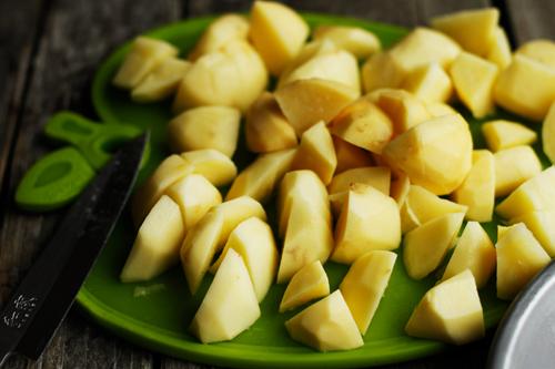 cubespotatoes Creamy Mashed Potatoes