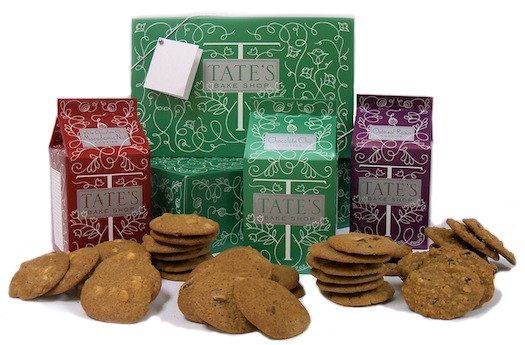Tate's Bake Shop Cookies and Cookbook Giveaway