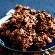 Crunchy Chocolate Peanut Butter Stacks
