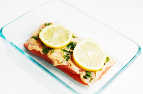 sriachamayosalmonlemon How to Microwave Salmon