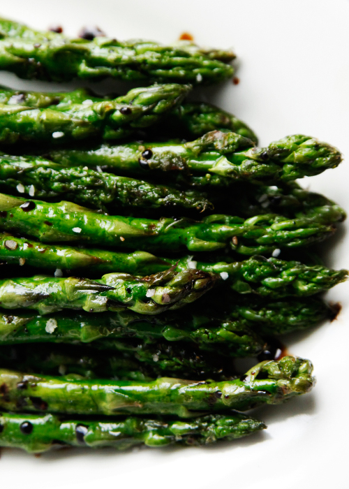 Grilled Asparagus With Reduced Balsamic Vinegar Recipe | Easy Recipes ...