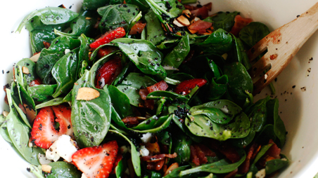 strawberryspinachsalad1 Alices Recipe Round Up