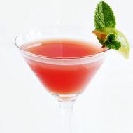 Watermelon Mint Lime Martini