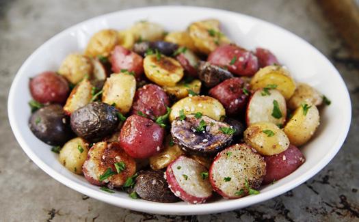 TRUFFLEDPOTATOES Roasted Baby Potatoes with Truffle Salt
