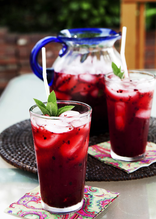 blackberry mint lemonade21 Blackberry Mint Lemonade