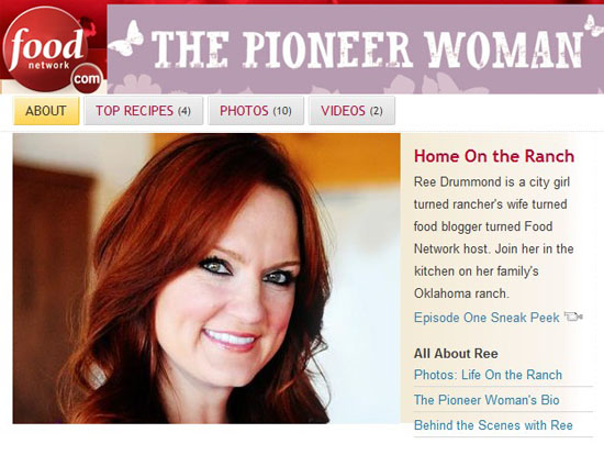 fnpw The Pioneer Woman Food Network Show