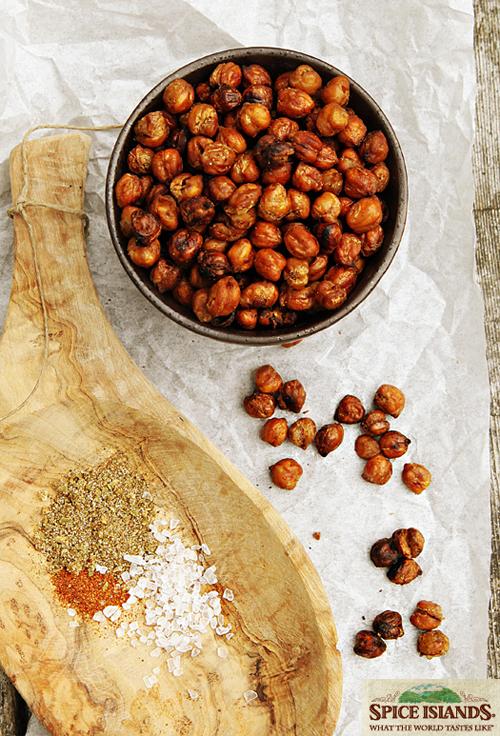 Garam Masala spiced roasted chickpeas1 Spice Islands   Spiced Roasted Chickpeas