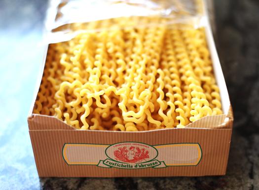 pasta noodles San Marzano Tomato Sauce