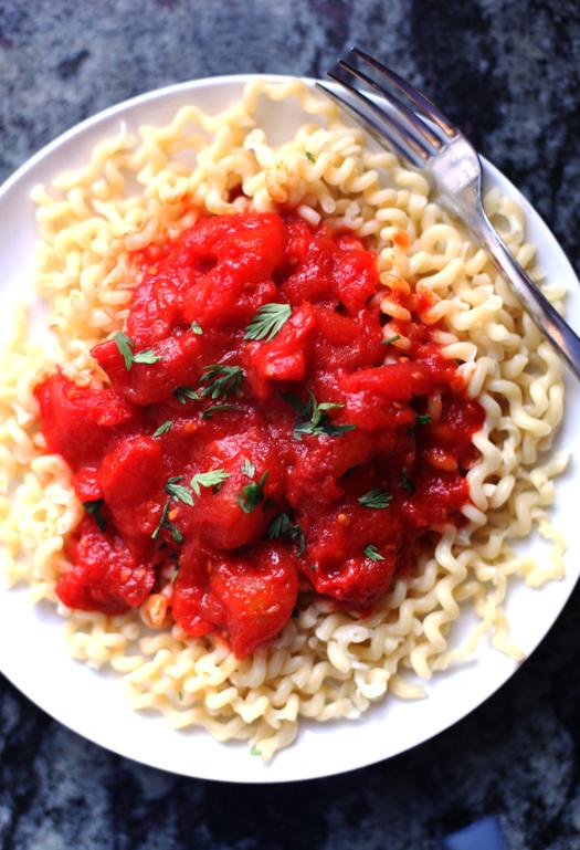 tomato marinara sauce San Marzano Tomato Sauce