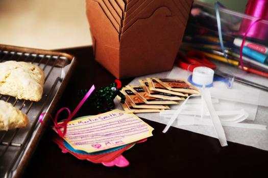scones work station Teacher Appreciation Idea   Afternoon Tea Break Packages