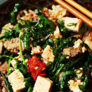 Kale Mabo Tofu