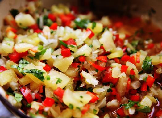 Pineapple Salsa | Savory Sweet Life - Easy Recipes