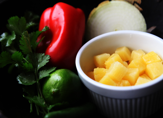 pineapple salsa ingredients Pineapple Salsa