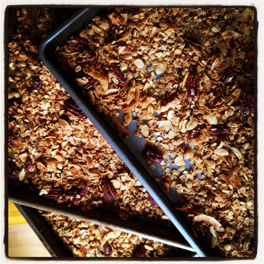 granola recipe Perfect Granola Recipe